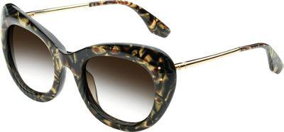 IVI Faye Sunglasses Polished Tigers Eye - Brushed Gold - IVI Eyewear