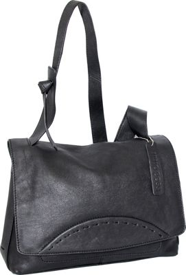 Nino Bossi Felicia Shoulder Bag Black - Nino Bossi Leather Handbags
