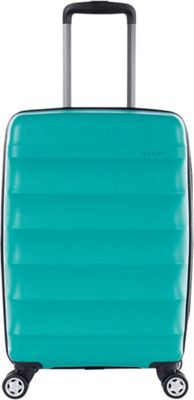 Antler Juno DLX 20 inch Expandable Hardside Carry-On Spinner Luggage Teal - Antler Hardside Carry-On