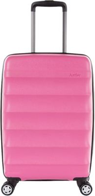 Antler Juno DLX 20 inch Expandable Hardside Carry-On Spinner Luggage Pink - Antler Hardside Carry-On