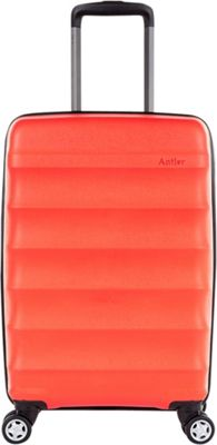 Antler Juno DLX 20 inch Expandable Hardside Carry-On Spinner Luggage Red - Antler Hardside Checked