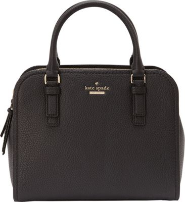 kate spade new york Jackson Street Small Kiernan Satchel Black - kate spade new york Designer Handbags
