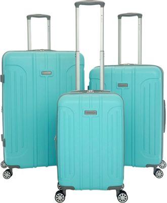 Gabbiano Viva 3 Piece Expandable Hardside Spinner Luggage Set Tiffany Blue - Gabbiano Luggage Sets