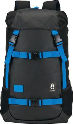 Nixon Landlock Laptop Backpack II Black / Blue / Float - Nixon Laptop Backpacks