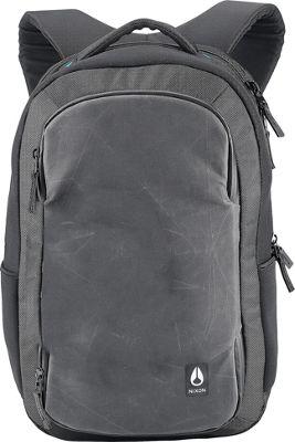 Nixon Shadow World Traveler Backpack II Black - Nixon Laptop Backpacks