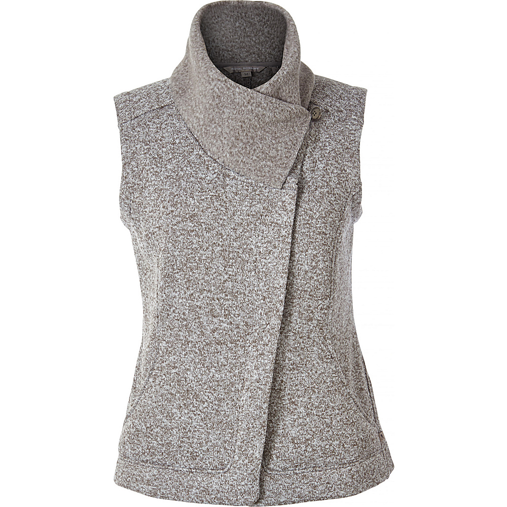 Royal Robbins Womens Longs Peak Vest M - Pewter - Royal Robbins Womens Apparel - Apparel & Footwear, Women's Apparel