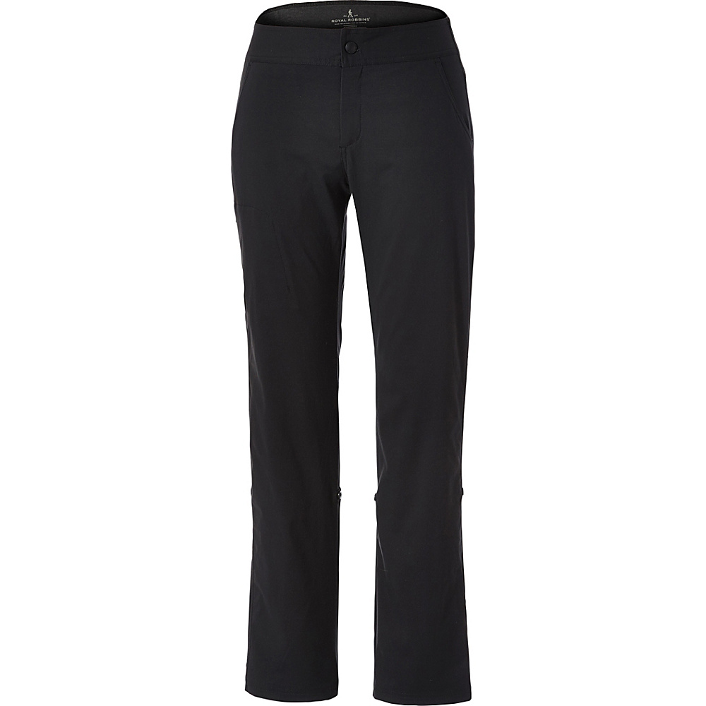 Royal Robbins Womens Fall Jammer Pant L - 32in - Jet Black - Royal Robbins Womens Apparel - Apparel & Footwear, Women's Apparel