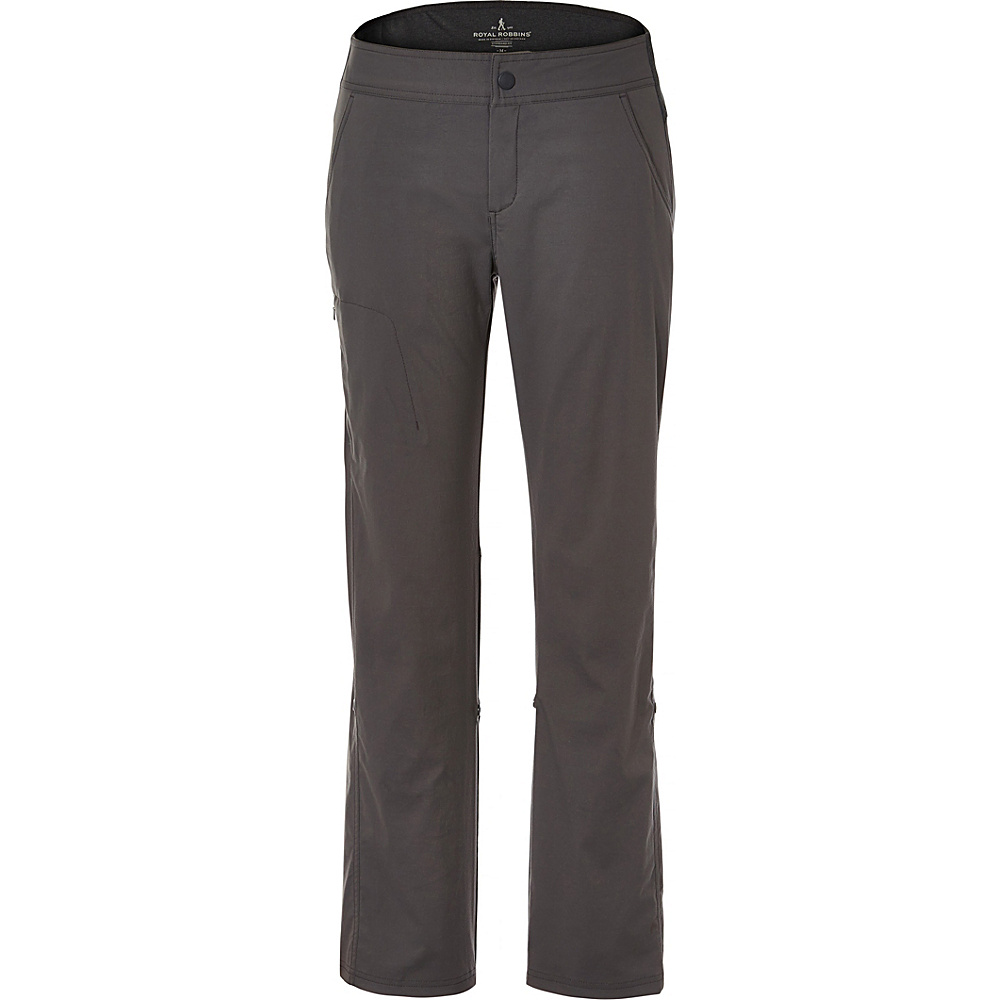 Royal Robbins Womens Fall Jammer Pant XS - 32in - Obsidian - Royal Robbins Womens Apparel - Apparel & Footwear, Women's Apparel