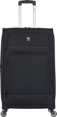 Revelation Remy Pro 27 inch Expandable Checked Spinner Luggage Black - Revelation Softside Checked