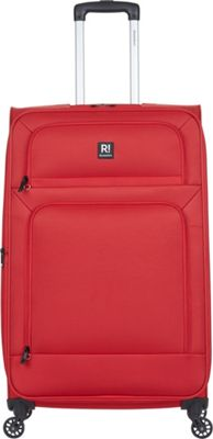 Revelation Remy Pro 27 inch Expandable Checked Spinner Luggage Red - Revelation Softside Checked