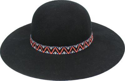 Bear Paw After dark Round Brim Hat One Size - Black - Bear Paw Hats/Gloves/Scarves