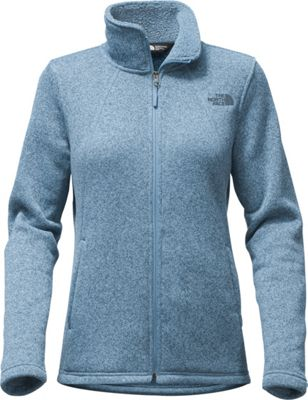 The North Face Womens Crescent Full Zip M - Provincial Blue Heather - The North Face Women's Apparel