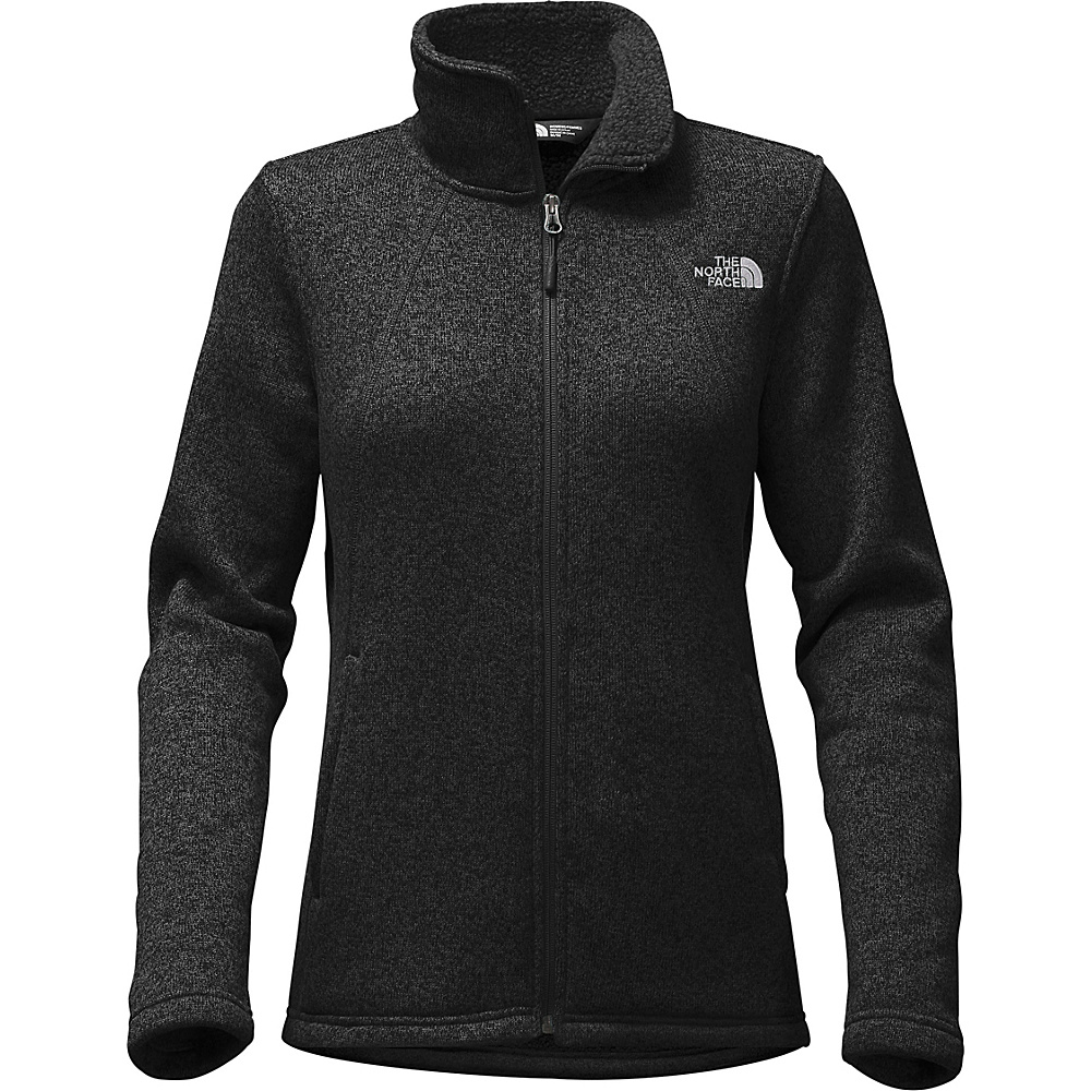 The North Face Womens Crescent Full Zip L - TNF Black Heather - The North Face Womens Apparel - Apparel & Footwear, Women's Apparel