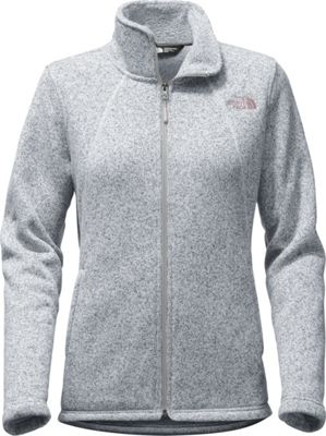 The North Face Womens Crescent Full Zip XS - Tnf Light Grey Heather - The North Face Women's Apparel