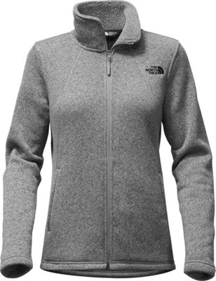 The North Face Womens Crescent Full Zip XL - TNF Medium Grey Heather - The North Face Women's Apparel