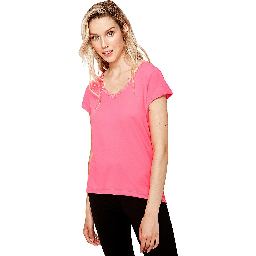 Lole Repose Top XS - Hot Pink - Lole Womens Apparel - Apparel & Footwear, Women's Apparel