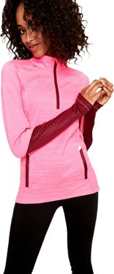 Lole Performance Top L - Hot Pink Heather - Lole Women's Apparel