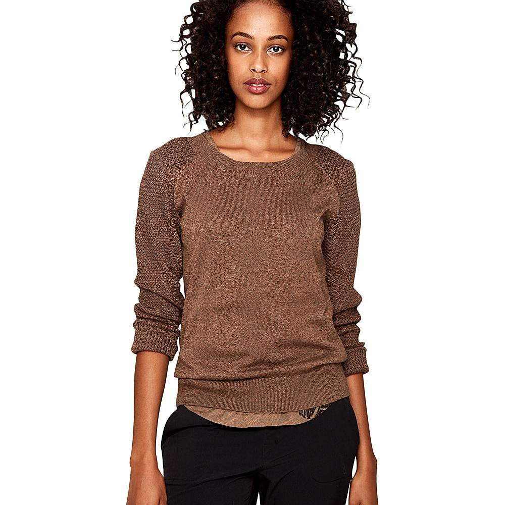 Lole Mona Sweater L - Sepia Heather - Lole Womens Apparel - Apparel & Footwear, Women's Apparel