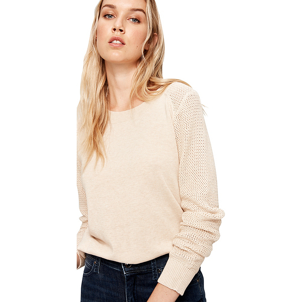 Lole Mona Sweater XL - Oatmeal Heather - Lole Womens Apparel - Apparel & Footwear, Women's Apparel