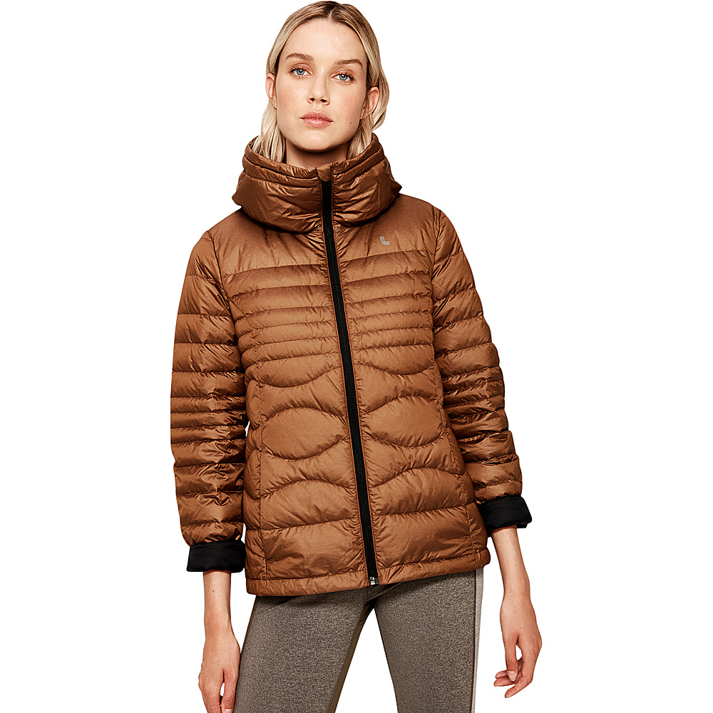 Lole Levi Packable Jacket S - Sepia Heather - Lole Womens Apparel - Apparel & Footwear, Women's Apparel