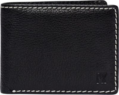 PX Hayes Bi-fold Wallet Black - PX Men's Wallets