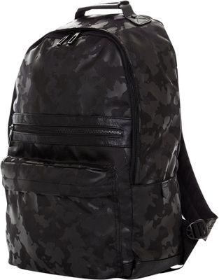 PX Arlo Camoflauge Laptop Backpack Black - PX Business & Laptop Backpacks