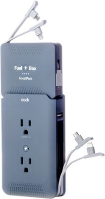 FuelBox FuelBox Ultimate Charging Solution Astro Grey - FuelBox Portable Batteries & Chargers