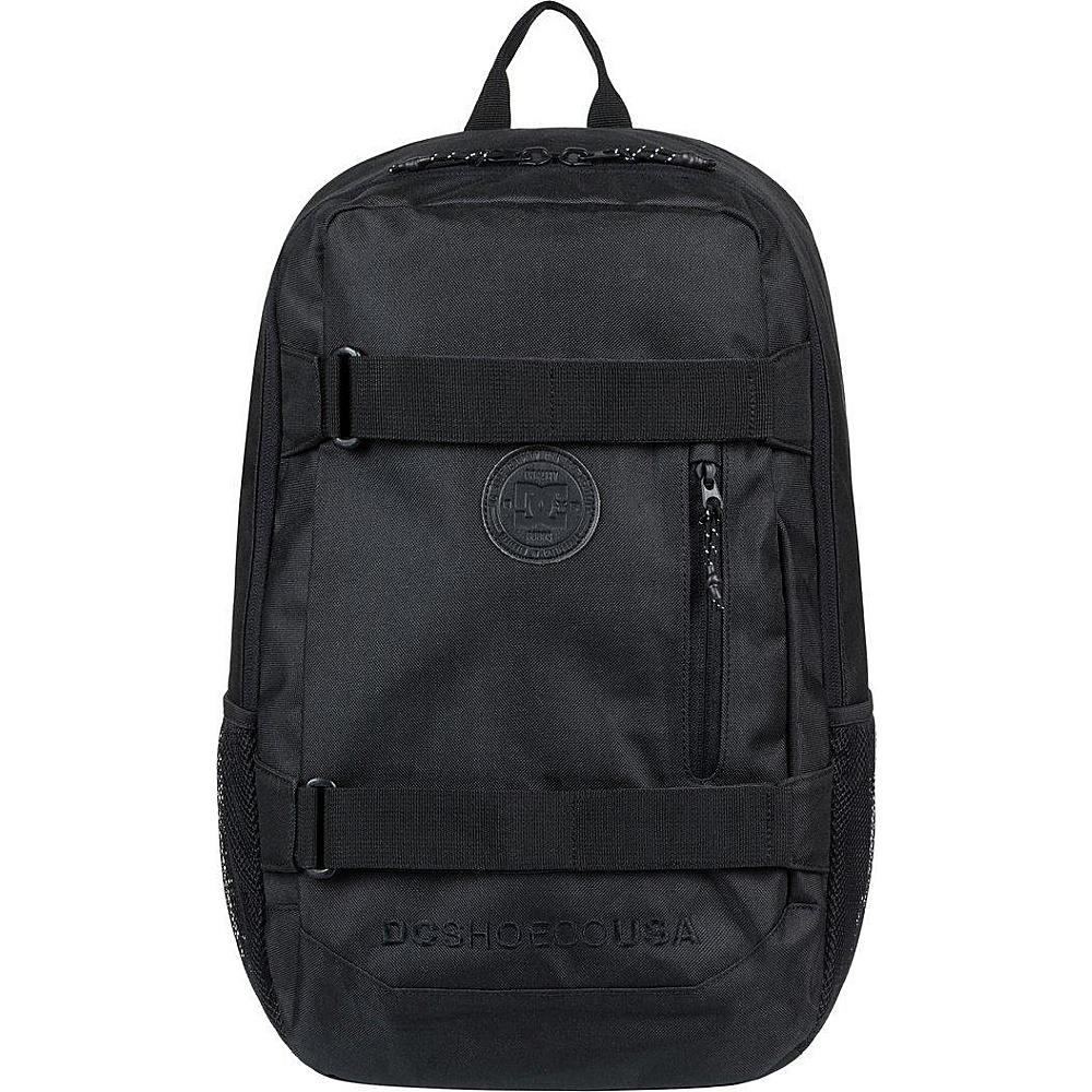 DC Shoes Men's Clocked 18L Medium Laptop Skatepack Black - DC Shoes Laptop Backpacks