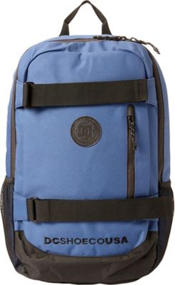 DC Shoes Men's Clocked 18L Medium Laptop Skatepack Washed Indigo - DC Shoes Laptop Backpacks