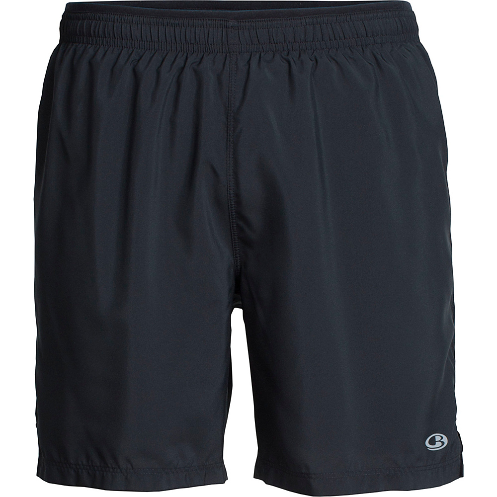 Icebreaker Mens Strike Support Shorts L - Black - Icebreaker Mens Apparel - Apparel & Footwear, Men's Apparel
