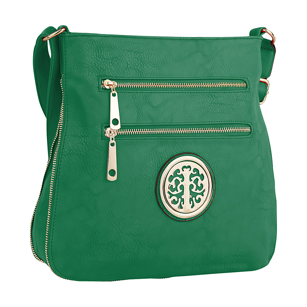 MKF Collection by Mia K. Farrow Adele Crossbody Light Green - MKF Collection by Mia K. Farrow Manmade Handbags - Handbags, Manmade Handbags