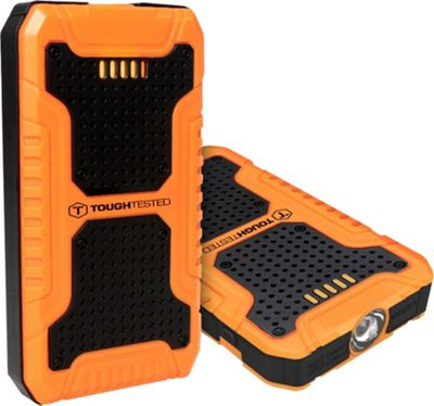 ToughTested Jump Starter + Power Bank/8000 mAh Black - ToughTested Portable Batteries & Chargers