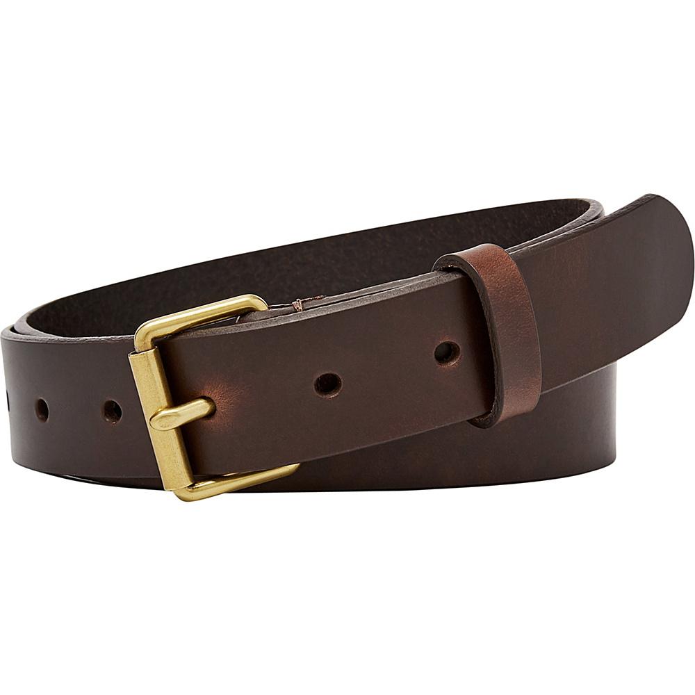 Fossil Roller Buckle Belt L - Espresso - Fossil Other Fashion Accessories - Fashion Accessories, Other Fashion Accessories