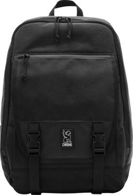 Chrome Industries Fortnight Laptop Backpack Black - Chrome Industries Business & Laptop Backpacks