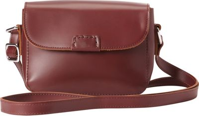 Vagabond Traveler Classic Unique Crossbody Wine Red - Vagabond Traveler Leather Handbags