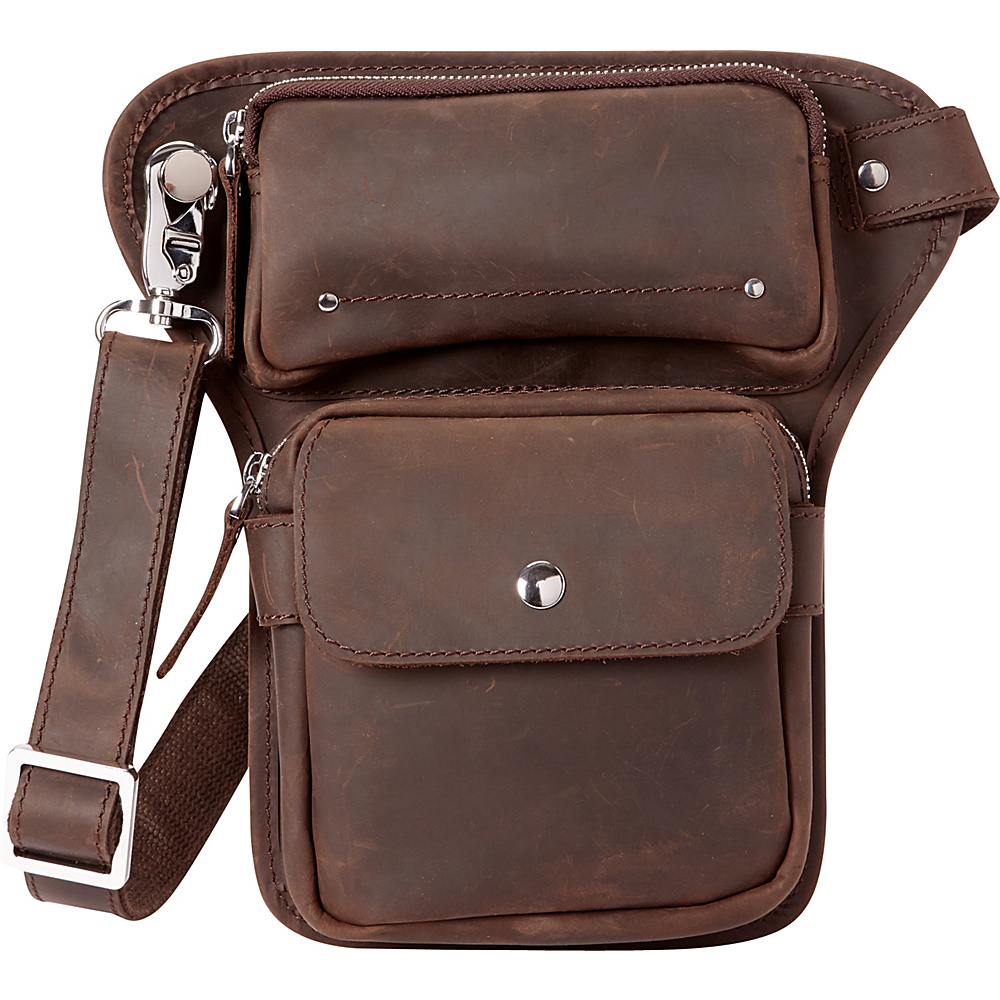 Vagabond Traveler Waist Leg Sport Bag Distress - Vagabond Traveler Waist Packs - Backpacks, Waist Packs