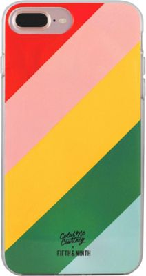 Fifth & Ninth iPhone 7 Plus Slim Impact Resistant Bumper Case Walking On Rainbows - Fifth & Ninth Electronic Cases