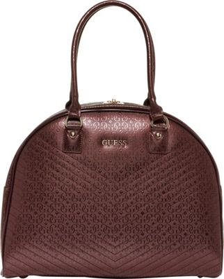 """GUESS Travel Halley 15"""" Dome Carry-On Tote Bordeaux - GUESS Travel Luggage Totes and Satchels"""