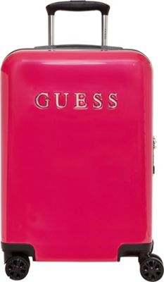 GUESS Travel Mimsy 20 inch Hardside Spinner Carry-On Luggage Magenta - GUESS Travel Hardside Carry-On