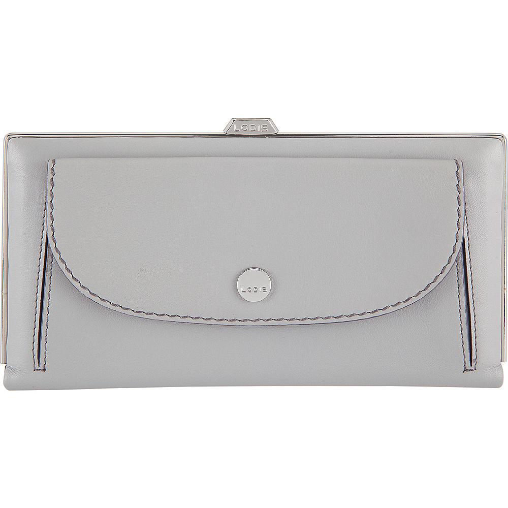 Lodis Downtown RFID Keira Clutch Wallet Cement/Lava - Lodis Womens Wallets - Women's SLG, Women's Wallets