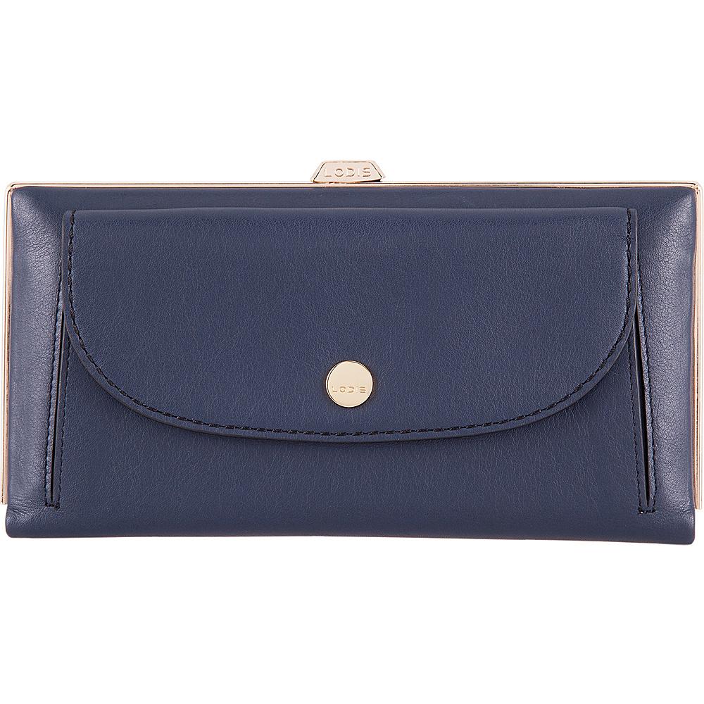 Lodis Downtown RFID Keira Clutch Wallet Navy/Black - Lodis Womens Wallets - Women's SLG, Women's Wallets