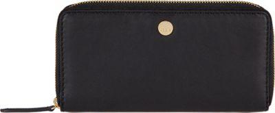 Lodis Downtown RFID Perla Zip Wallet Black - Lodis Women's Wallets