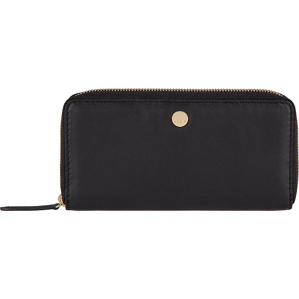 Lodis Downtown RFID Perla Zip Wallet Black - Lodis Womens Wallets - Women's SLG, Women's Wallets