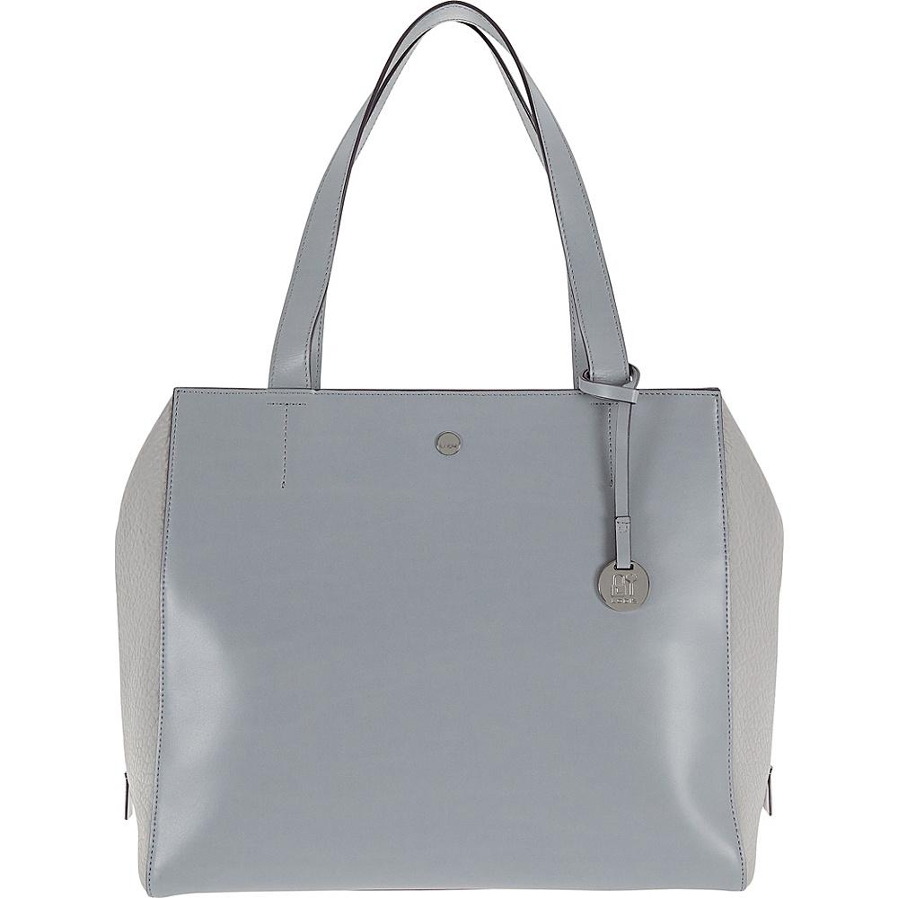 Lodis In The Mix RFID Doris Work Satchel Cement - Lodis Leather Handbags - Handbags, Leather Handbags