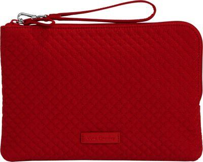 Vera Bradley Iconic RFID Wristlet Cardinal Red - Vera Bradley Women's Wallets