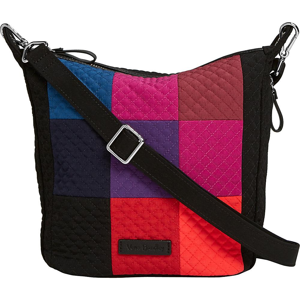Vera Bradley Carson Mini Hobo Crossbody Winter Patchwork - Vera Bradley Fabric Handbags - Handbags, Fabric Handbags