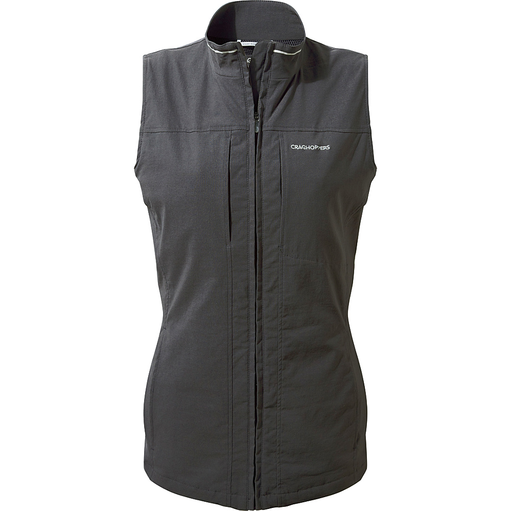 Craghoppers Nat Geo NosiLife Dainely Gilet 8 - Charcoal - Craghoppers Womens Apparel - Apparel & Footwear, Women's Apparel