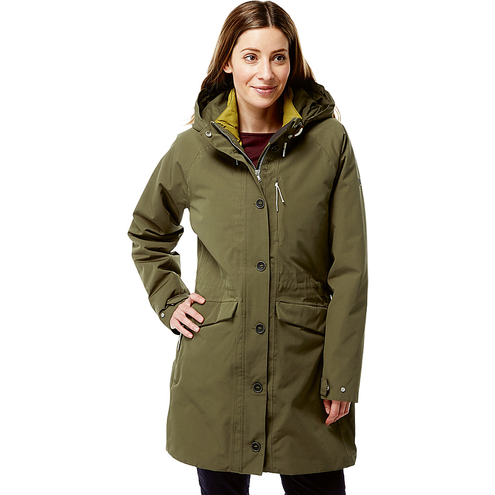 Craghoppers 365 5 in 1 Jacket 4 - Dark Moss/Sulphur - Craghoppers Womens Apparel - Apparel & Footwear, Women's Apparel