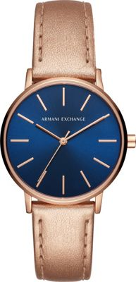 A/X Armani Exchange Women's Watch Rose Gold - A/X Armani Exchange Watches