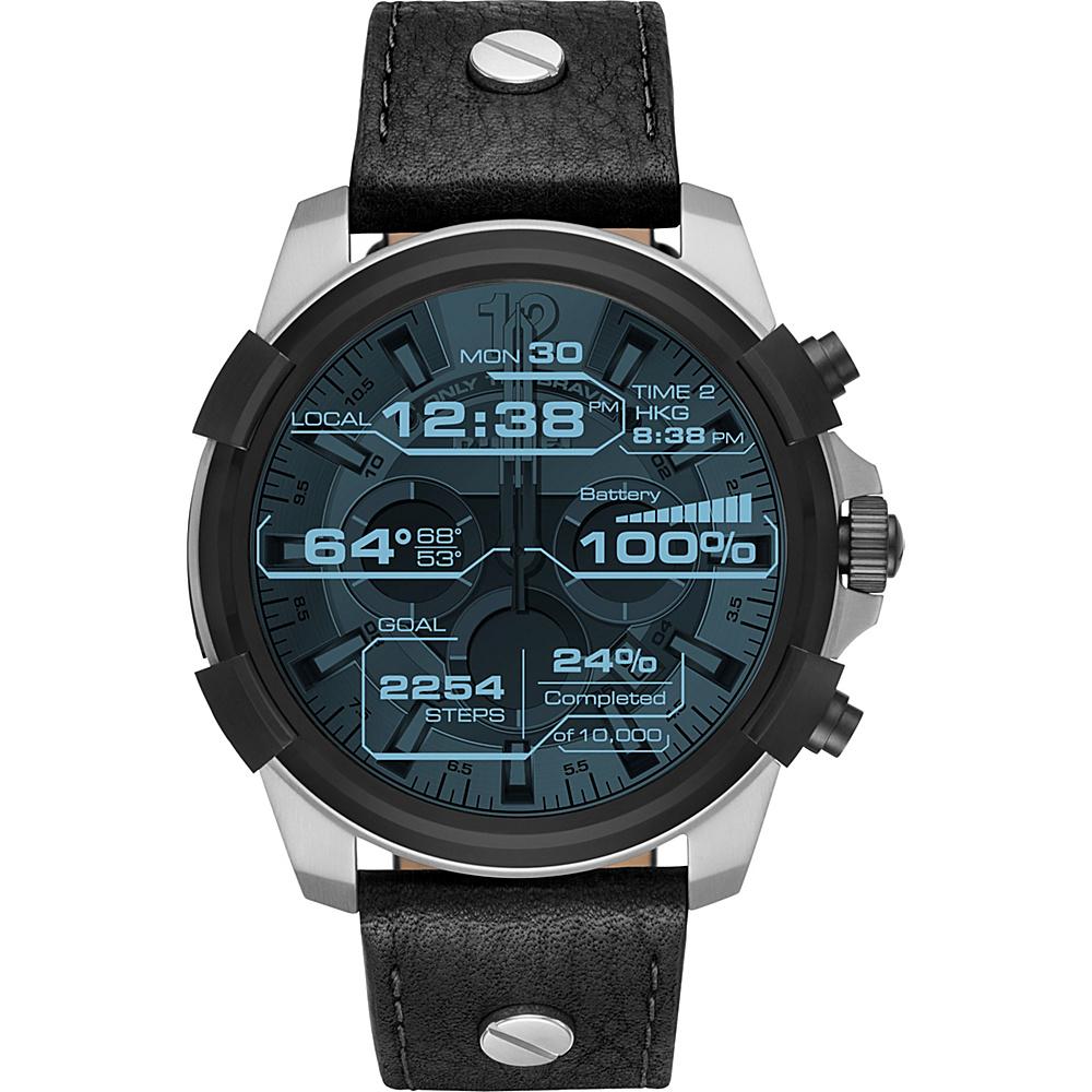 Diesel Watches Men''s Touchscreen Smartwatch Black - Diesel Watches Wearable Technology